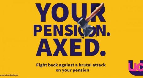 Solidarity with education union's fight over university pensions