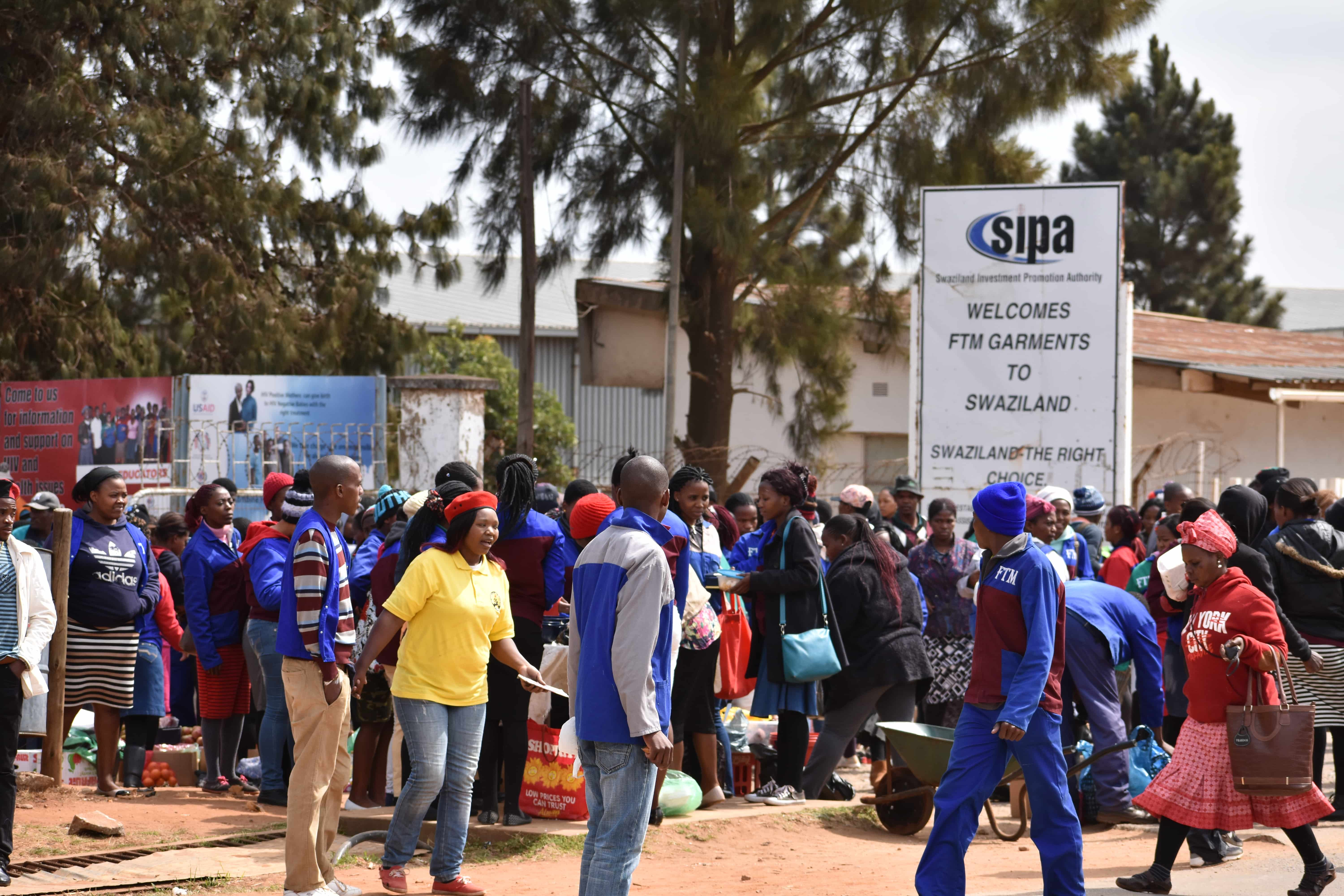 Swazi union condemns garment company for not respecting workers' rights