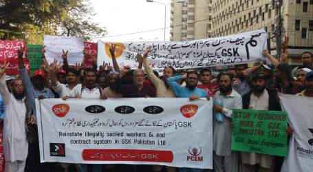 Pakistan: Sacked GSK workers fight for justice