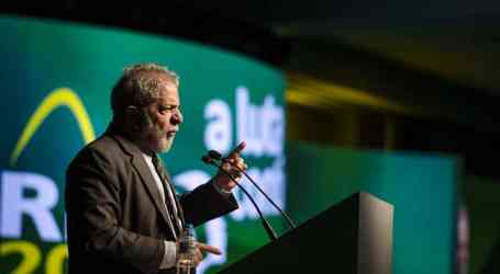 Outrage after ex-president Lula's political convoy attacked by gunfire
