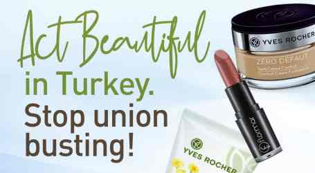 French cosmetics brand Yves Rocher dismisses 100+ union members