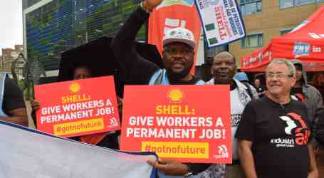Shell unable to answer worker questions at AGM