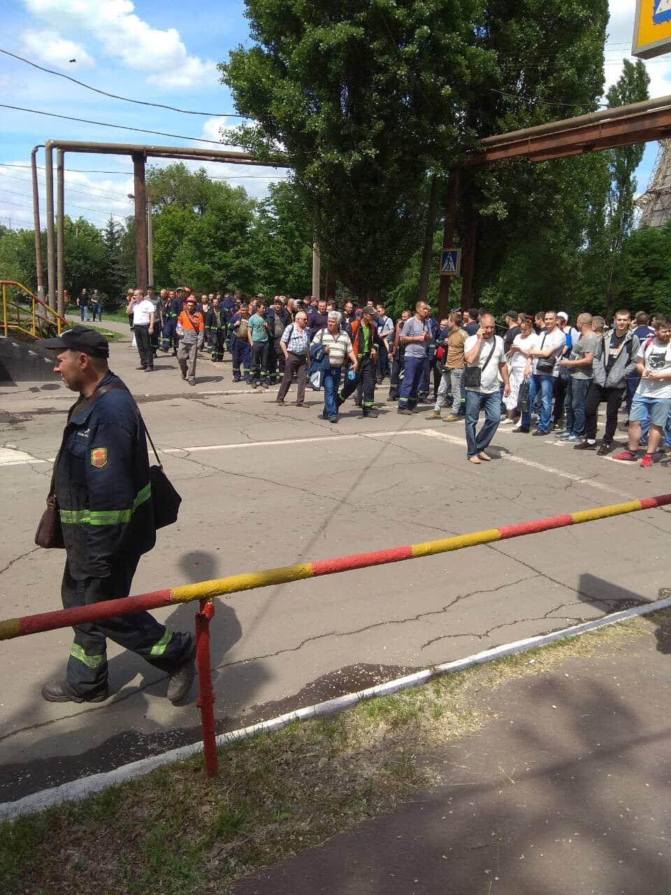 Ukraine: ArcelorMittal workers protest unsafe conditions and poor wages