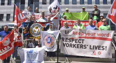 Unions demand LafargeHolcim keeps its word and respects workers' lives