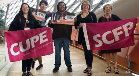 CUPE members participate in first-ever National Women's Shelter Conference