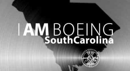 Boeing South Carolina mechanics vote to join Machinists Union
