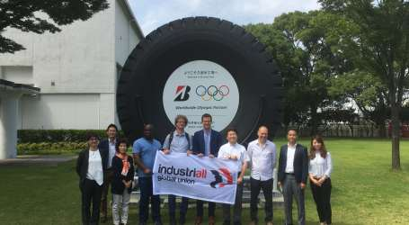 IndustriALL Bridgestone trade union network builds on long tradition