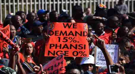 South African unions reject Eskom's zero-increase in wages