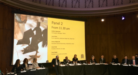 IndustriALL gives evidence to UK parliamentary Select Committee
