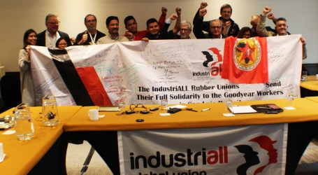 Unions worldwide express support for Goodyear workers in Mexico