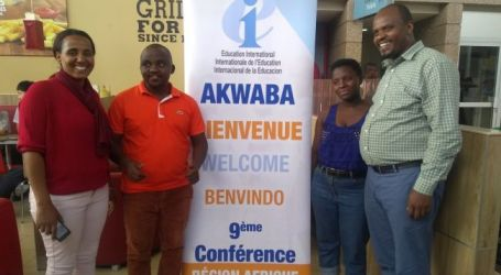Young African trade unionists unite to develop ways to strengthen unions