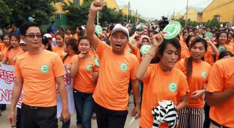Unjust sentencing of Cambodian union leaders must be quashed
