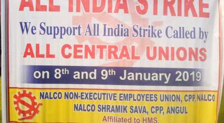 Indian workers hold biggest strike in history