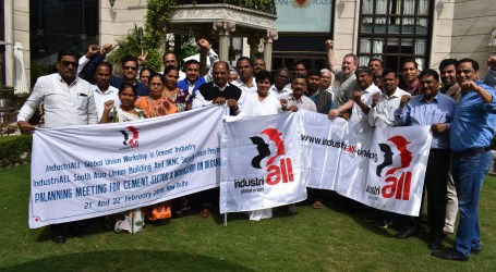 Cement unions in India commit to strong organizing drive