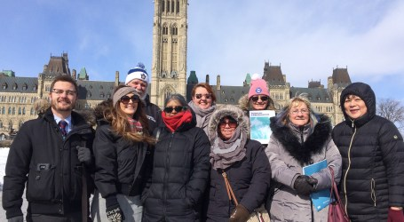 CUPE members take action on pensions and Pharmacare