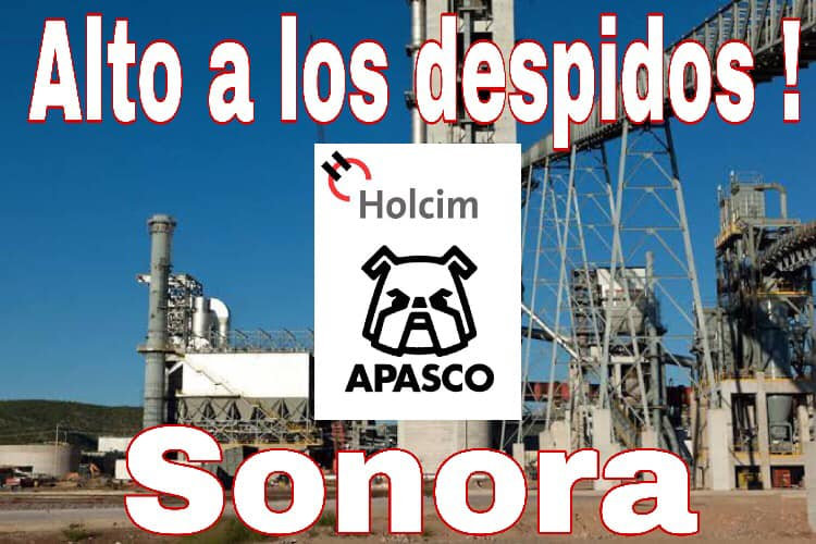 LafargeHolcim fires workers for organizing union in Mexico