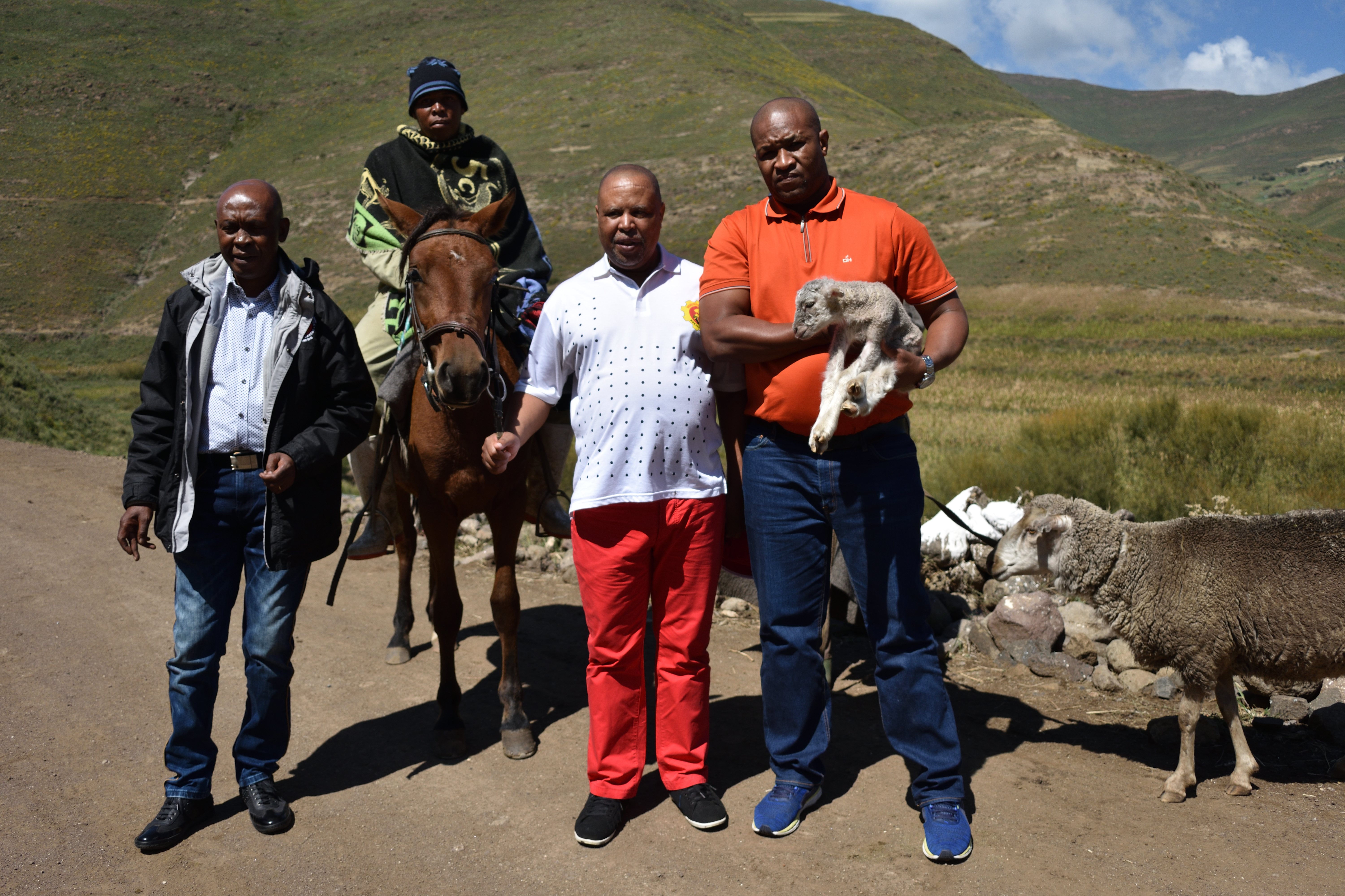 Organizing diamond mineworkers in the mountains of Lesotho