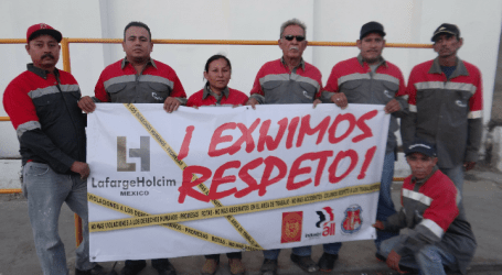 Los Mineros demand union representation at LafargeHolcim Mexico