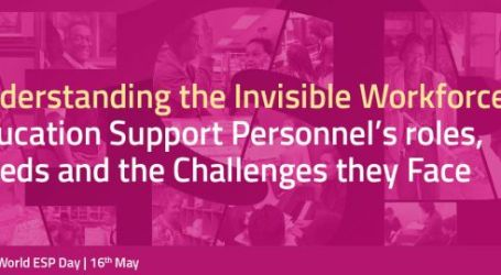 Making the invisible visible – standing with education support personnel