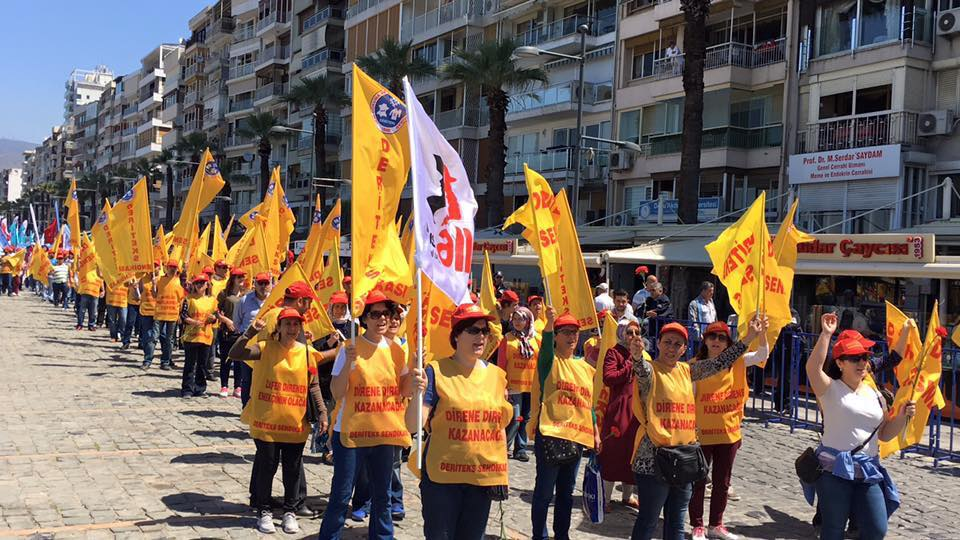We will not give up on democracy in Turkey