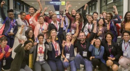 First young delegate caucus at the EI World Congress