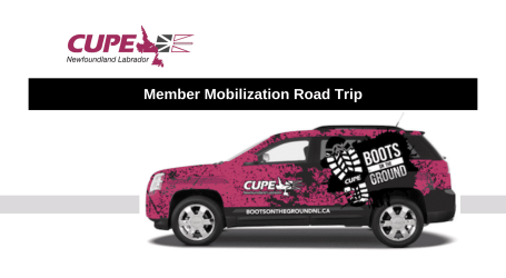Boots on the Ground: CUPE NL Tour Dates
