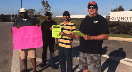 Kumho Tire workers in USA vote to join USW