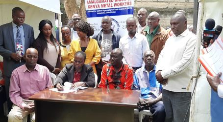 Agreements unite formal and informal metal workers in Kenya