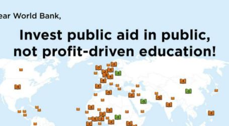 EI calls on World Bank to change tack in education