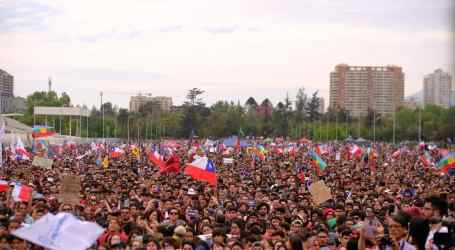 Strike in Chile calling for social change
