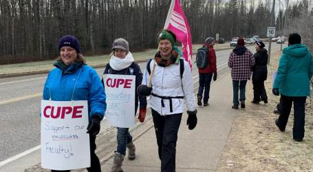 CUPE solidarity inspires in Northern BC