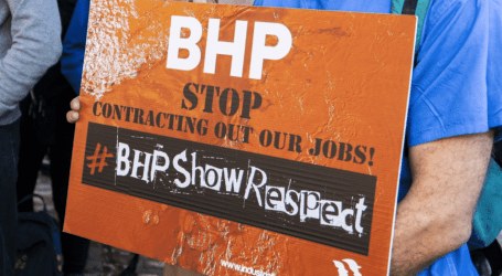 CFMEU wins appeal against BHP Operations Services