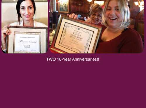 Ten Years with Causey Law Firm – Anniversary Celebrations
