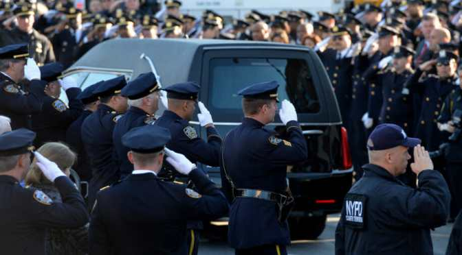 In Complicated Times, Police Who Risk Their Lives Still Need Support