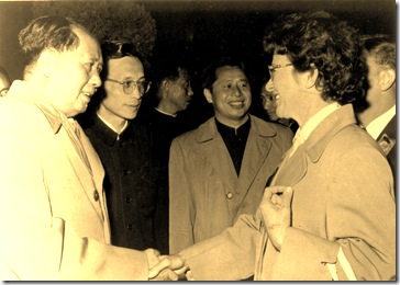 Norma Chalmers meets Chairman Mao
