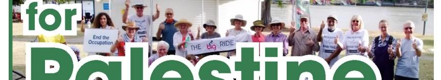 Join the Big Ride for Palestine (Australia) 2021