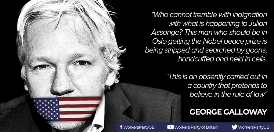 George Galloway on Julian Assange