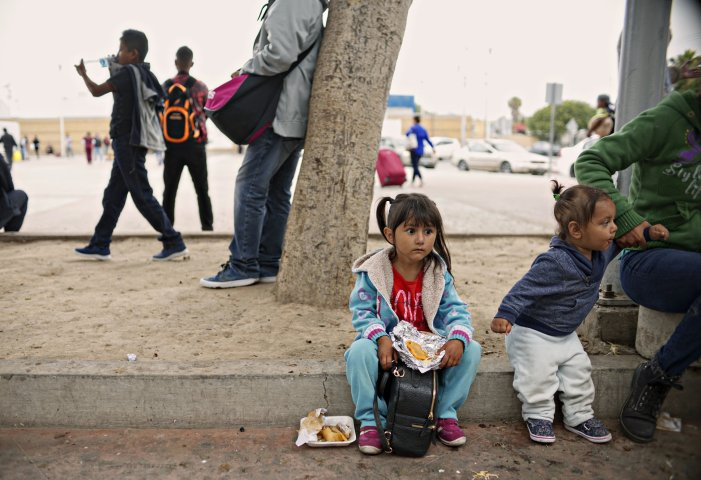 Separation of migrant families at the border