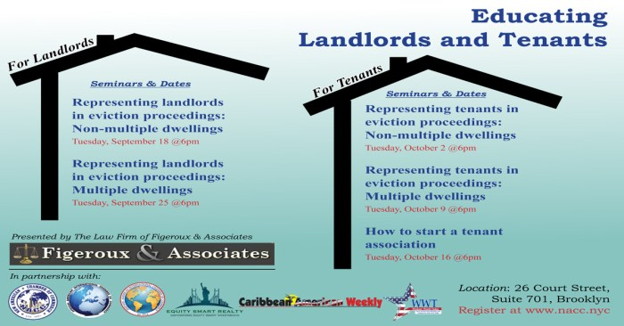Intro to Landlord & Tenant Law – Representing landlords in eviction proceedings: Non-multiple dwellings