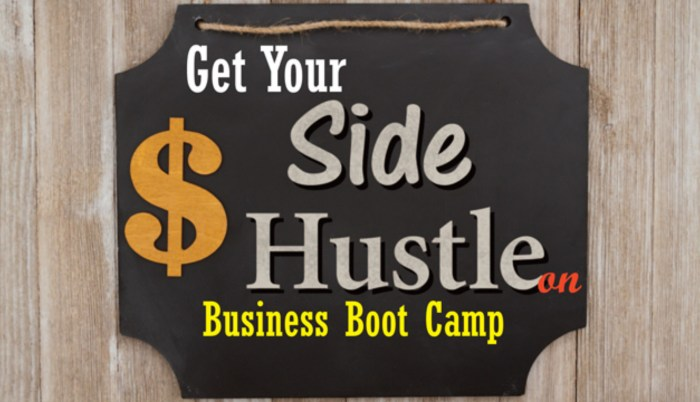 Get Your Side Hustle On – Business Boot Camp