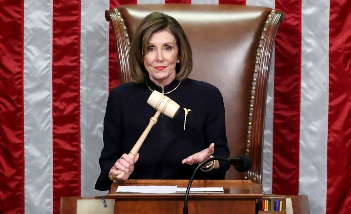 Pelosi: Power of gavel means Trump is 'impeached forever'