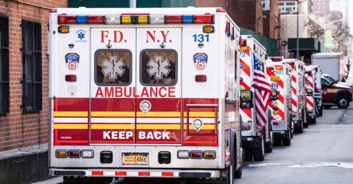 EMS members brace for COVID-19 peak, Bronx Zoo converts to staging area
