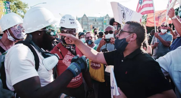Black or Blue? Protest Movements Take Center Stage in Races for NYC's Swing Seats