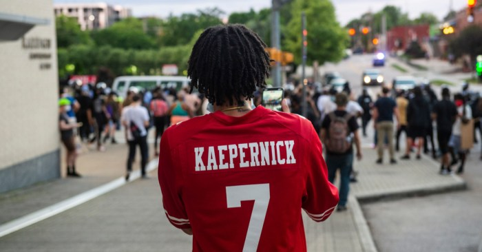 Kaepernick is Asking for Justice, not Peace