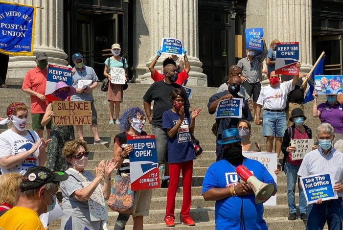 NYC Rallies for Postal Service Day of Action