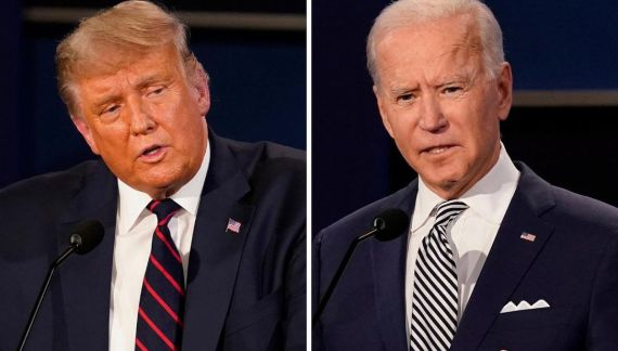 Presidential debate: Trump and Biden trade insults in chaotic debate