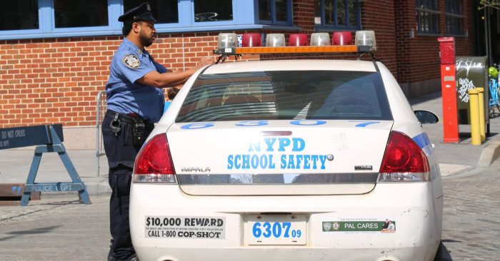 Why getting back to 'normal' doesn't have to involve police in schools