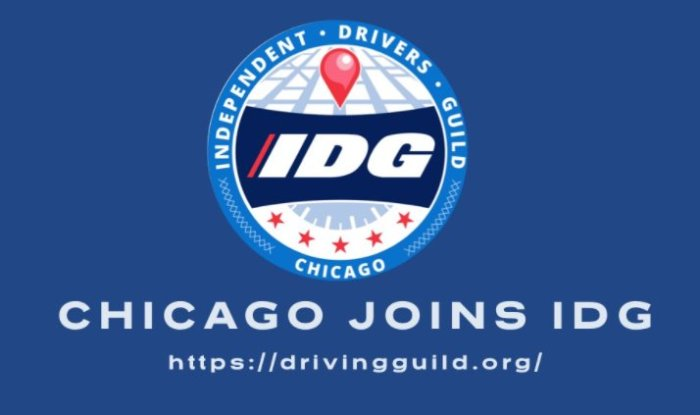 Chicago Gig Workers Join With NY-Based Independent Drivers Guild to Launch IDG Chicago