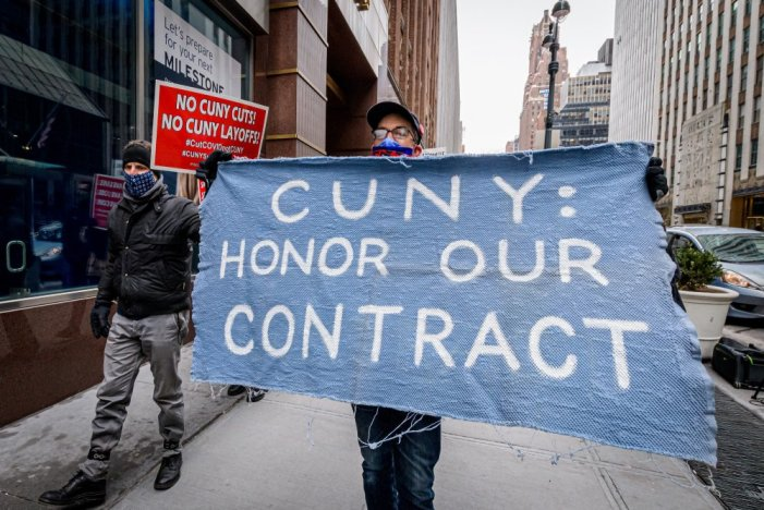 PSC-CUNY Members Fight Back, Forcing CUNY to Honor Contract