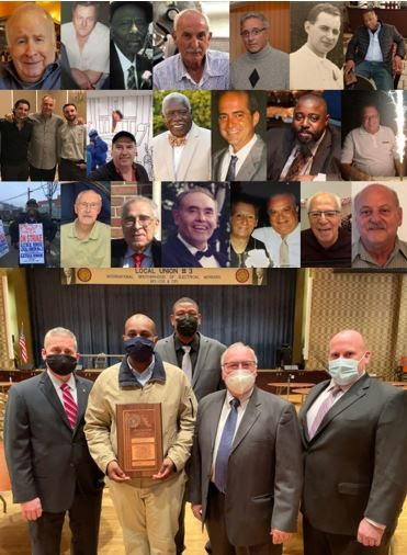 IBEW Local 3 Honors Fallen Members and Recognizes 1st Year Apprentice for Heroic Action